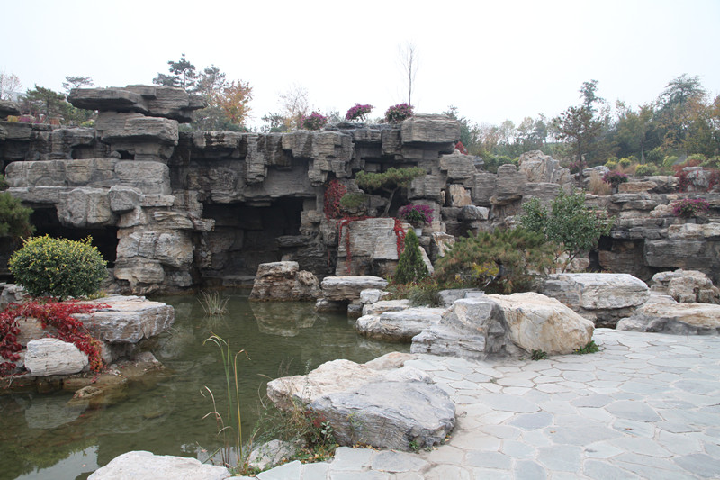1-园博园假山水系工程