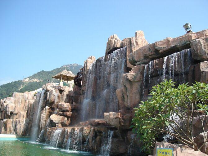 25-塑石假山
