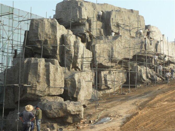 24-塑石假山